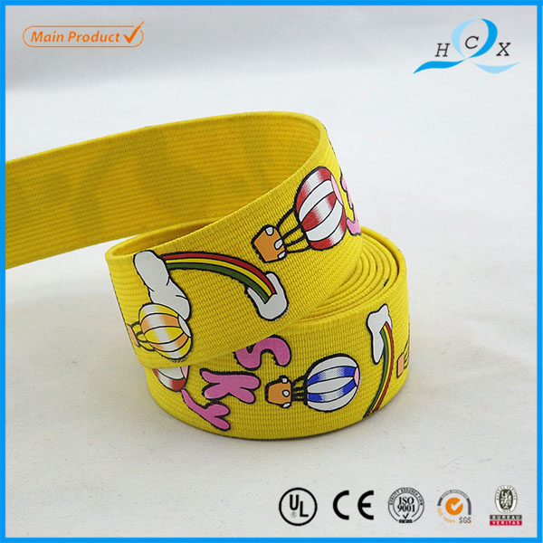 China Factory Supplier Popular Style Print Webbing