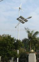 wind and solar hybrid street lamp
