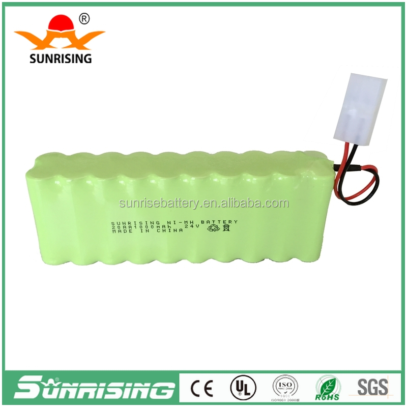 24v ni-mh rechargeable battery pack