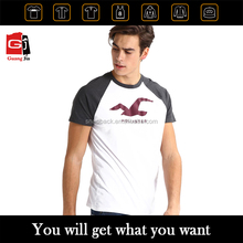 2017 Custom Plain Round Neck Short Sleeve T shirt/Design Your Own Clothing