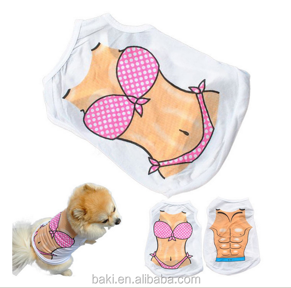 Summer cool Dog Vest Bikini Pet Dog Cloth