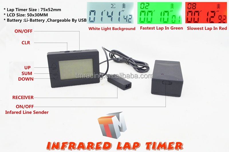 Motorcycle Car Racing Infrared Lap timers