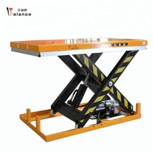 HW1004 1ton Electricity Connect hydraulic Scissor lift <strong>table</strong> for sale