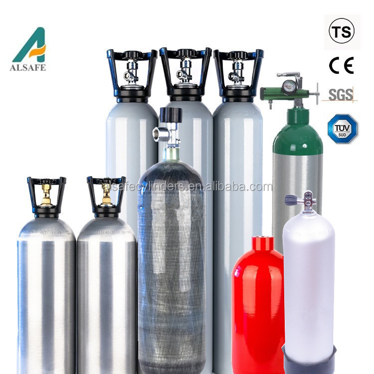 air container China manufacturer direct sale aluminum gas cylinder and composite gas cylinder air container