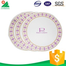 Colorful Disposable paper plates manufacturing