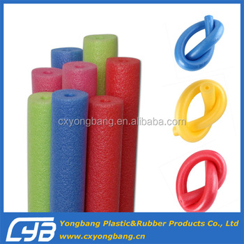 EPE foam tube for swimming learning