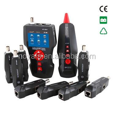 Shenzhen Noyafa Factory distribute test Earthnet lan cable tester with 8 remotes NF-8601W