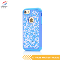 Anti-Shock Rubber Thin Flexible Soft Bumper silicone tpu case cover for iphone 7 bling bling case