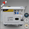 BISON China Taizhou 4500 Watt Single Phase Single Cylinder Diesel Generator 4.5KW Aksa Power Generator