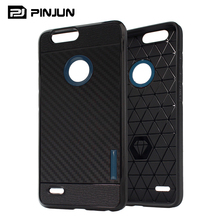 Hot new products carbon fiber texture free sample phone case for Zte blade spark z971 case tpu pc