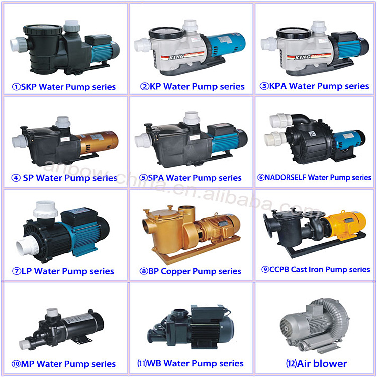ALL PUMPS SALES PROMOTION!!! 2 inch 220v/380v 1hp~15hp single/Three phase electric motor water pump for swimming pool