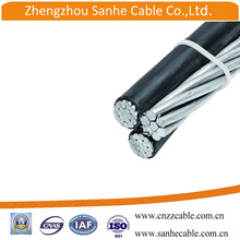 XLPE /PE insulated Aluminum conductor Aerial bundled ABC cable malaysia size
