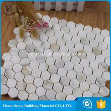 hexagon mosiac tile