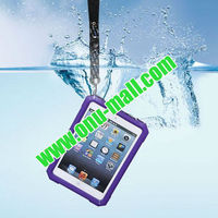 High Quality Waterproof Case for iPad mini with 52cm Lanyard (Purple)