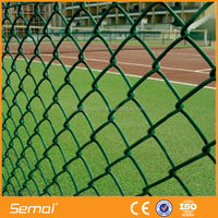 High Quality Low Green PVC Chain Link Fence Prices