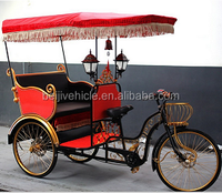 Factory directly passenger use electric three wheel e passenger rickshaw