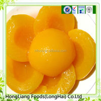 Canned halve Yellow Peach(canned peach/canned fruit)