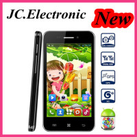 OEM Smart phone 4 inch MTK6572 Cortex A7 dual core Android 4.2.2 IPS Screen 800x480 Smartphone 2MP Camera
