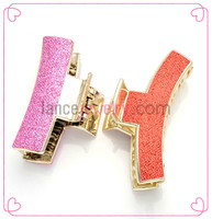 2015 Custom acrylic girls decorative pins flower bow hair clips beautiful fashion jewelry handmade japanese hair claw