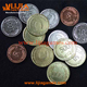 Custom metal coin metal token pieces for hobby game