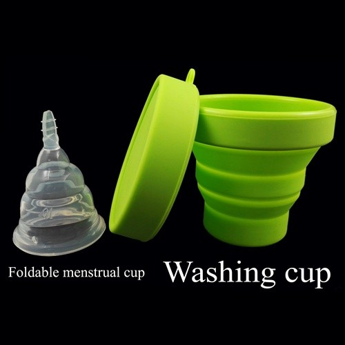 Provide FDA ISO certified gildable lunaris Menstrual cup