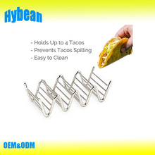 Taco Stand - Stainless Steel taco racks- Restaurant Style holder