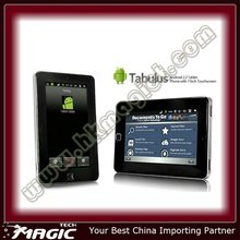 Android 2.2 double points touch screen 7 inch tablet pc with voice call