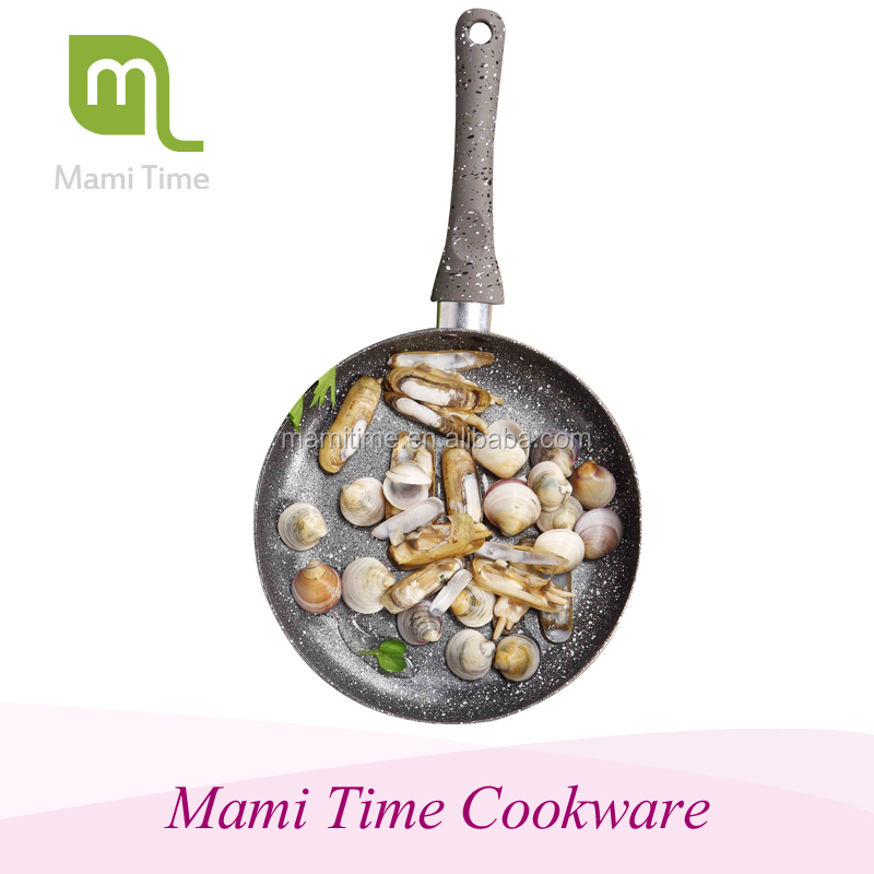 Mami time Delicious food dry fry pan