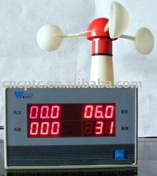 Tower crane Anemometer wind speedmeter for tower crane
