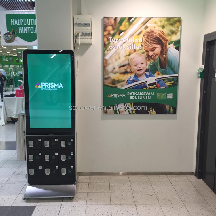 advertising display led screen mall kiosk digital