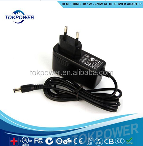 China supplier SAA listed LED Christmas tree universal ac dc adapter 5V 2000mA