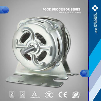 Single phase AC electric national food processor