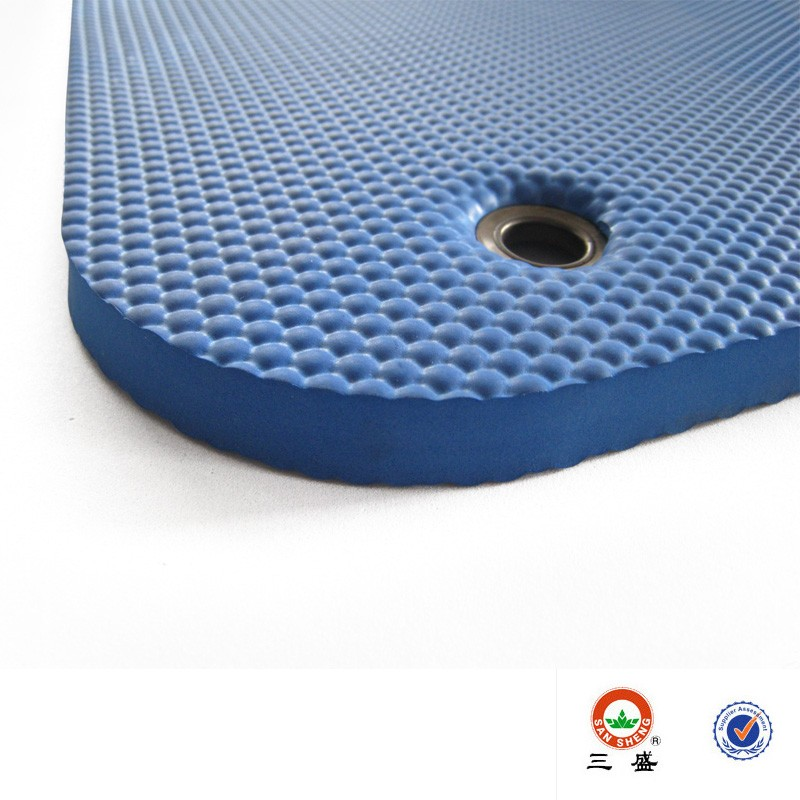 EVA hanging mat for gym; Gym mat with hole to hang up