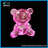 Creative Design Acrylic Crystal Bear Figurine