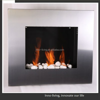 Wall mounted Ethanol fireplace for Home decor