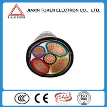 YJV22 copper conductor xlpe fire resistant armoured cable price