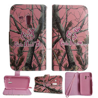 Fashion Painting Art Design Wallet PU Leather phone Case For Samsung S3 mini