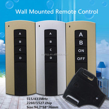 Wireless remote control electric roller shutters for window and door