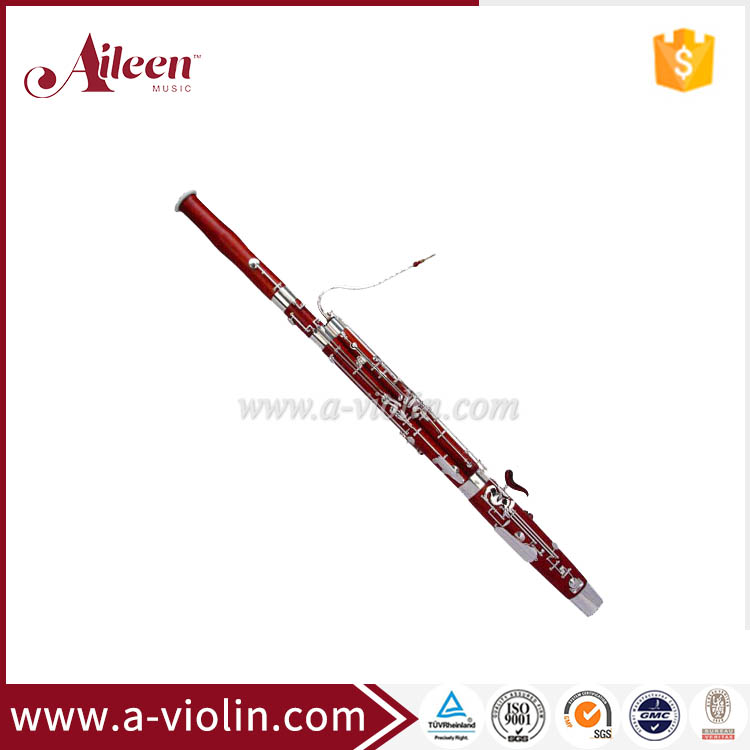 Maple Wood Nickel Silver Bassoon With Premium Case(BA7010)