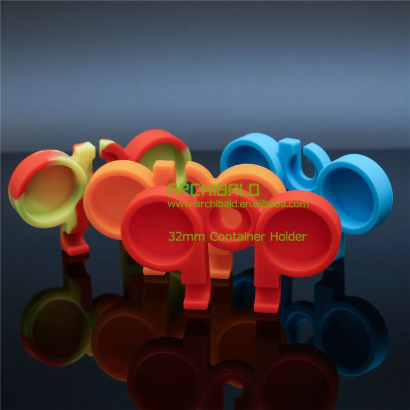 Non stick silicone/rubber bho dab wax container/jar/extraction machine/oil atomizer/box/drum