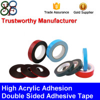 Strong Acrylic Adhesion Pressure Sensitive Adhesive Tape (PE/EVA/Acrylic foam/PET)