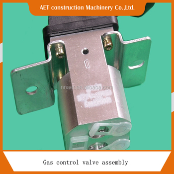 Gas control valve for Dongfeng Liuqi Balong dump truck spare parts