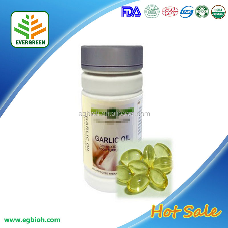 Best selling health care product organic black garlic oil softgel/ black garlic oil softgel