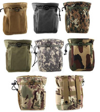 600D nylon PU waterproof Small Camouflage Recycled Military Tactical Debris Collection Sports Waist Bag Military Pouches
