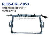 automobile parts steel radiator support apply for toyota corolla e150 2007 2012 oem 53210-07010