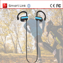 The newest wireless 4.1 soft solicon 110mAh bluetooth headset earphone