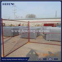 2016 hot sale! Hot Dipped Galvanized Temporary Fence / Removable Fence