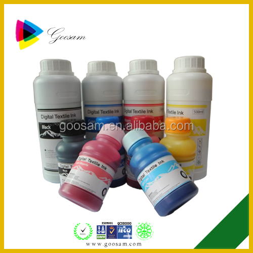 High quality vivid color Textile ink for Gerber solara lon V printer