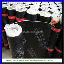 SBS prices rubber insulation waterproofing material 4mm membrane