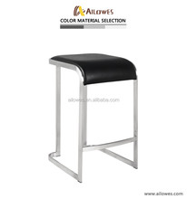 PU Stainless steel bar stool bar chair